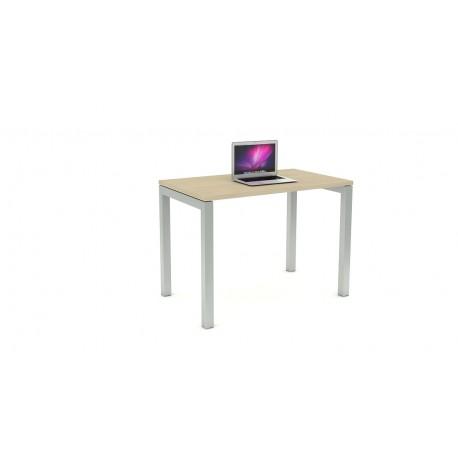 Las scrivania con gambe a ponte L100xP60xH72