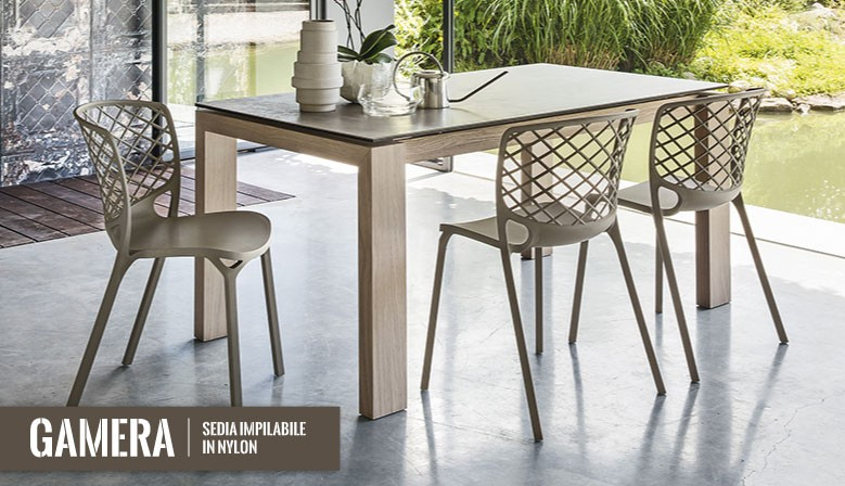 Wedu design for Sedie calligaris gamera